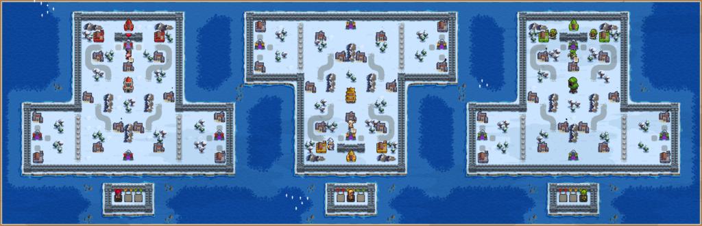 Triple Threat Portal Battle by Armagon