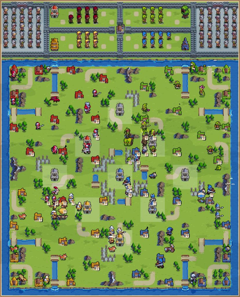 Zone Control 4P: Grey Raven Fields